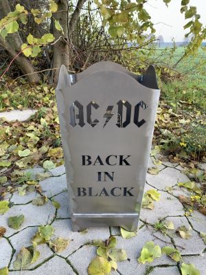 Feuerkorb AC/DC Back in Black
