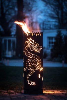 Hochwertige Feuerstellen Und Feuertonnen Fur Terrasse Garten