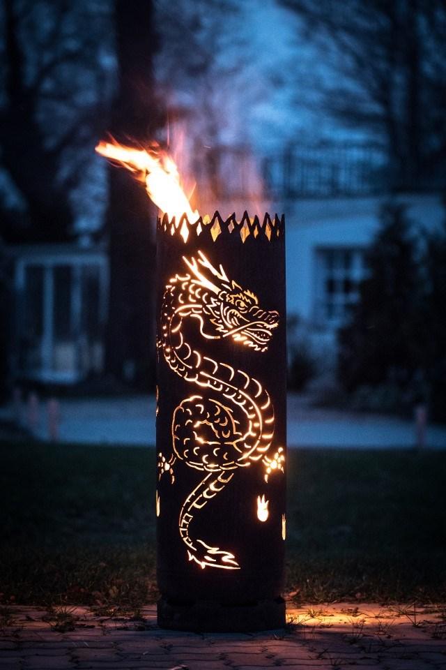 Feuertonne Drachen | Feuerflair Online Shop