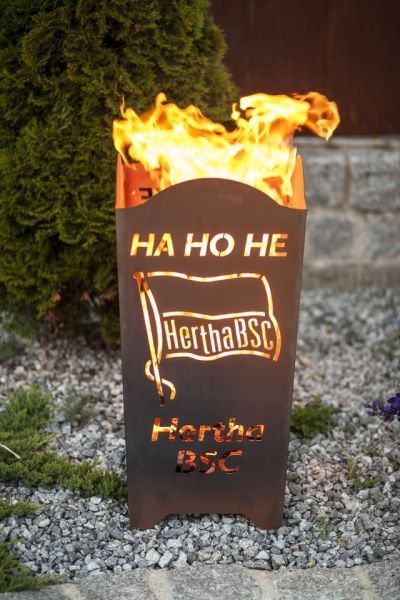 "Firepit Hertha BSC ""ha ho he Hertha BSC"" by Feuerflair.de"