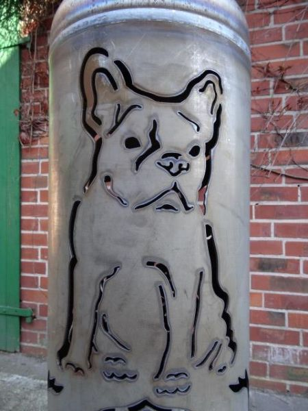 Great Fireplace French Bulldog