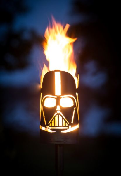 Fire Place STAR WARS Darth Vader by Feuerflair.de