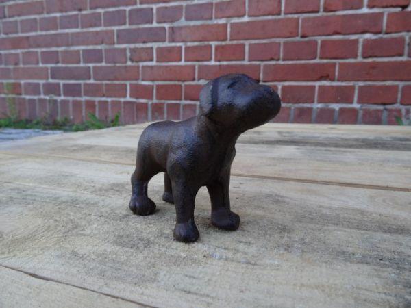 Hund deko figur aus gusseisen feuerflair online shop for Figuren gartendekoration